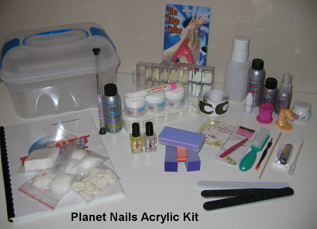 Planet Nails Nail Training School Acrylic Course