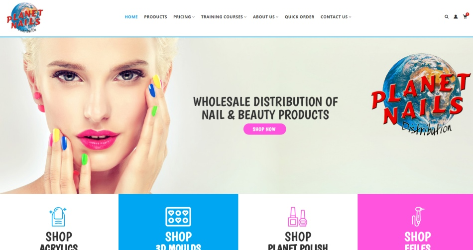 Planet Nails - Wholesale Distribution of Professional Nail & Beauty