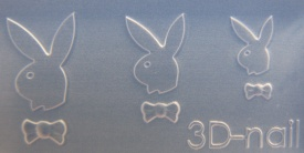 3-D Mould si018 Rabbit