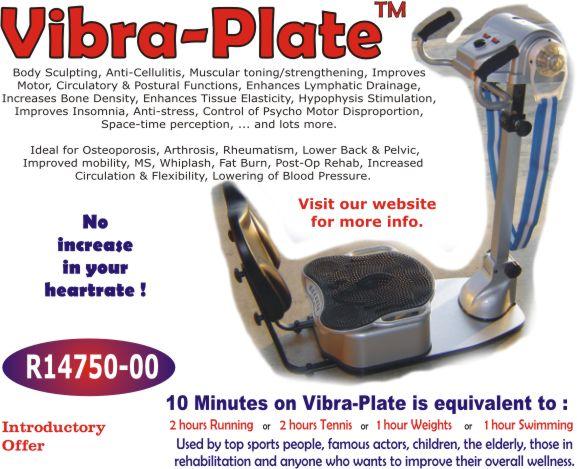 vibraplate machine